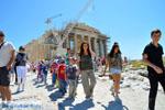 Schoolkinderen Parthenon Akropolis in Athene | De Griekse Gids foto 1 - Foto van De Griekse Gids