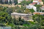 Theseion gezien vanaf de Akropolis in Athene | Attica | De Griekse Gids - Foto van De Griekse Gids